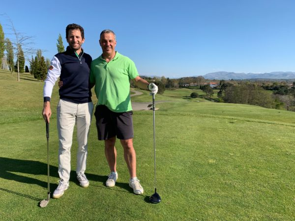 Greg Bourdy a croisé Titou Lamaison sur un parcours du Pays basque !