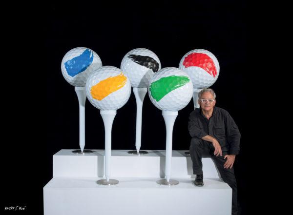 """Hubert Privé : """" L'art et le golf sont une recherche permanente de la vérité"""""""