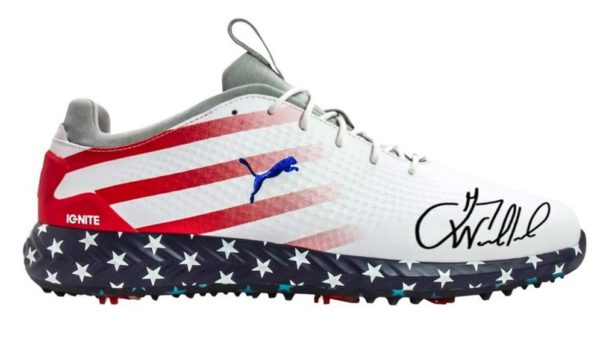 1 000 dollars la paire de chaussures de Gary Woodland !