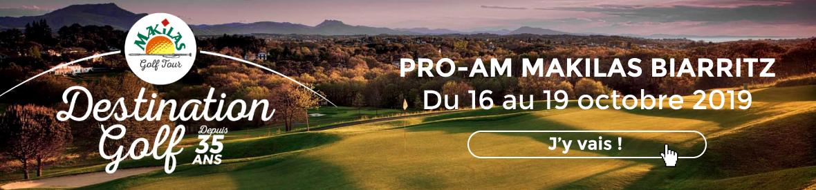 Makilas Golf Tour Pro Am Octobre 2019