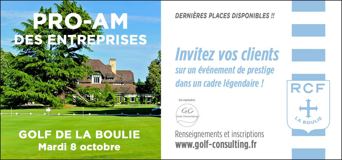 Pro-Am RCF Golf Consulting Septembre 2019