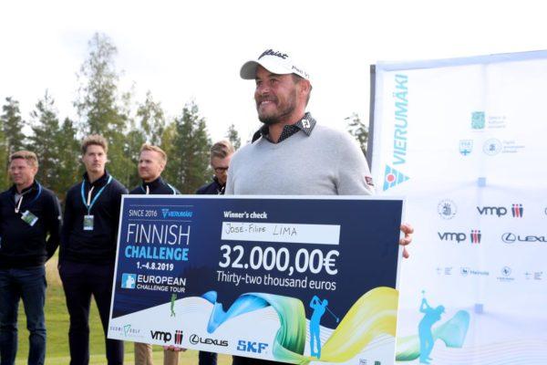 Challenge Tour : José-Filipe Lima vainqueur en Finlande, Joël Stalter 3e