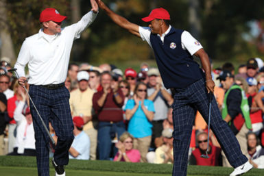 Stricker/Woods Photo Ross Kinnaird/Getty Images