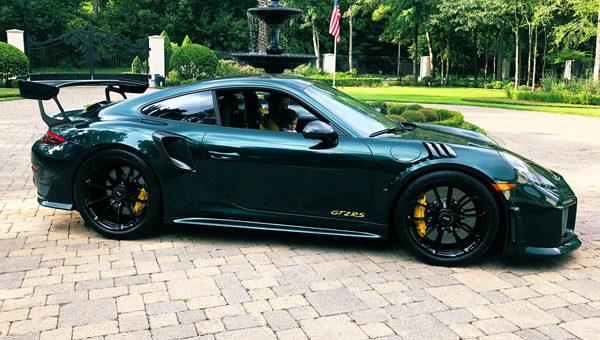 Découvrez la Porsche aux couleurs du Masters de Patrick Reed
