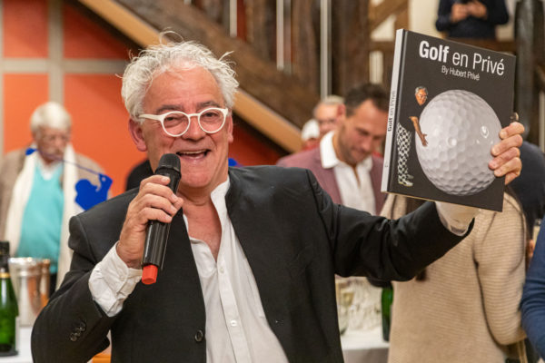 Hubert Privé lance son 4e livre : golf et fiesta au programme