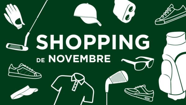 La shopping list du mois de novembre !