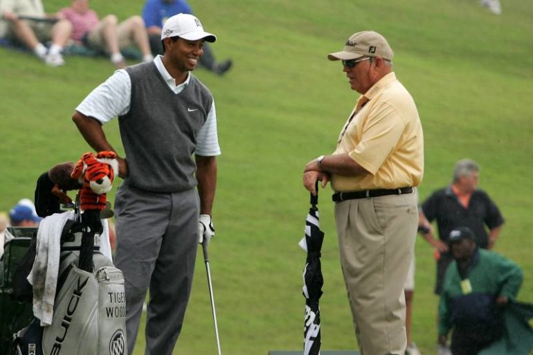 tiger woods butch harmon