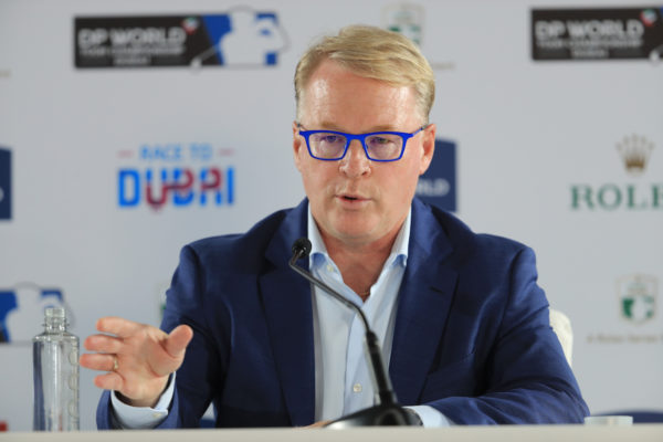 Keith Pelley, CEO of European Tour