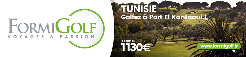 Formigolf janvier 2020 Tunisie