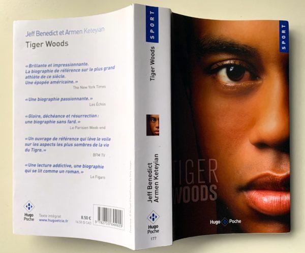 Une biographie de Tiger Woods disponible en français : entre ciel et enfer