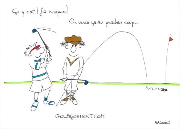 Comment avoir plus de régularité au golf ?? La chronique du pro Florian
