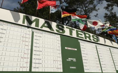 augusta masters leaderboard