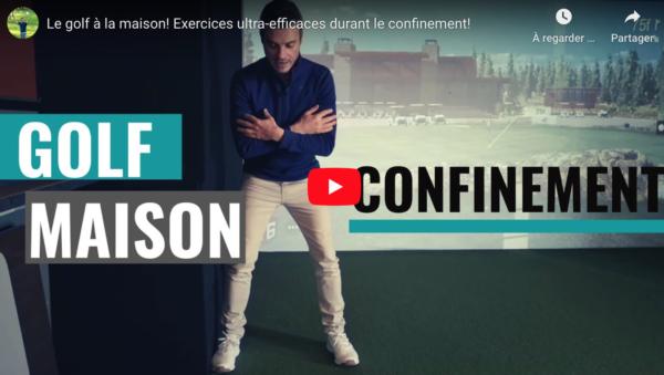 Simon, un pro canadien, vous donne 3 exercices à faire chez vous