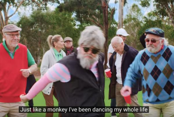 Vidéo fun : golf, musique et compagnie...