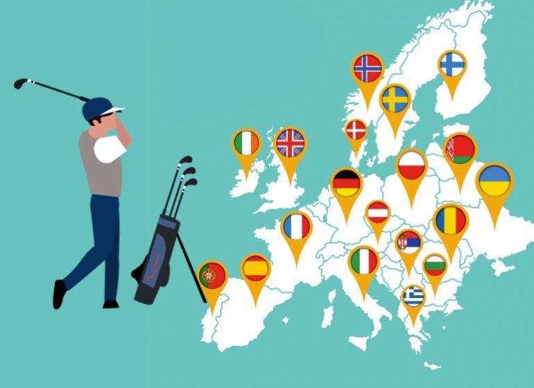 europe covid ouverture golf-ouverture confinement lockdown