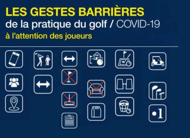 bonnes pratiques ffgolf 11 mai golf mesures barrieres gestes covid-19 coronavirus