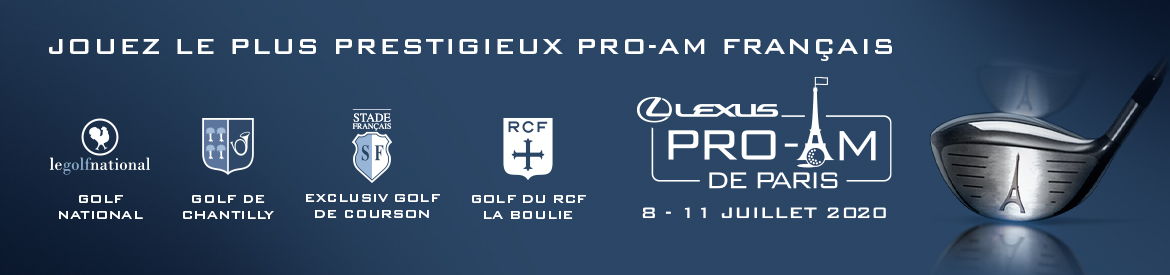 ProAm Lexus Paris avril 2020 bannière haute