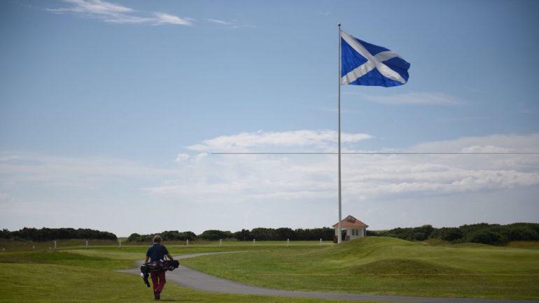 ecosse confinement drapeau