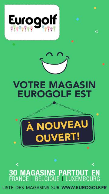 Eurogolf bannière verticale après 11 mai 2020