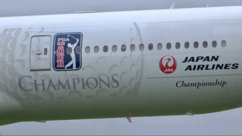PGA Tour avion aircraft reprise return joueurs caddies cadets
