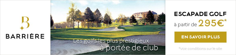 Barrière escapade golf juin 2020 – banniere large 1100×275