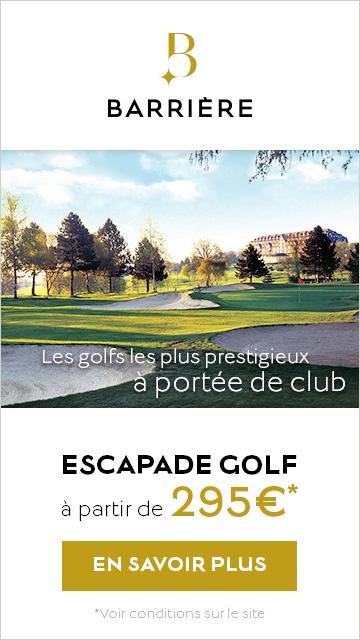 Barrière escapade golf juin 2020 – banniere verticale