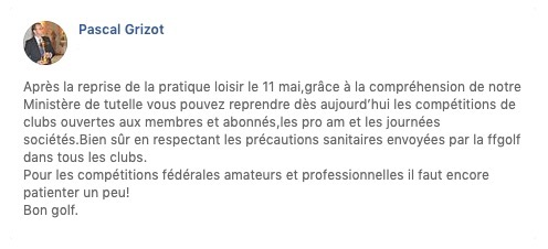 grizot annonce facebook pro am competition