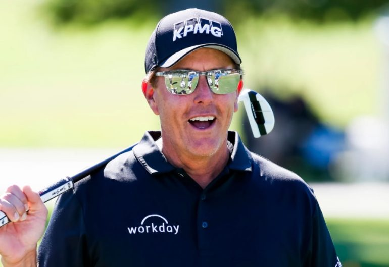 Phil Mickelson Lunettes 50 ANS