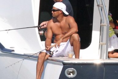 Tiger Woods peche yacht