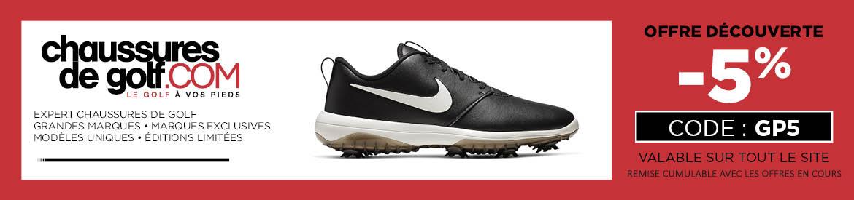 202007 Chaussures de golf – bannière large