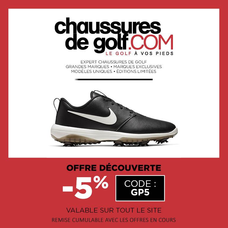 202007 Chaussures de golf – ticket carré