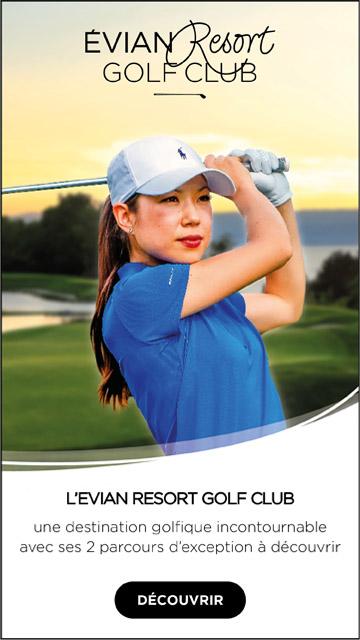 Evian Resort Golf Club – bannière verticale