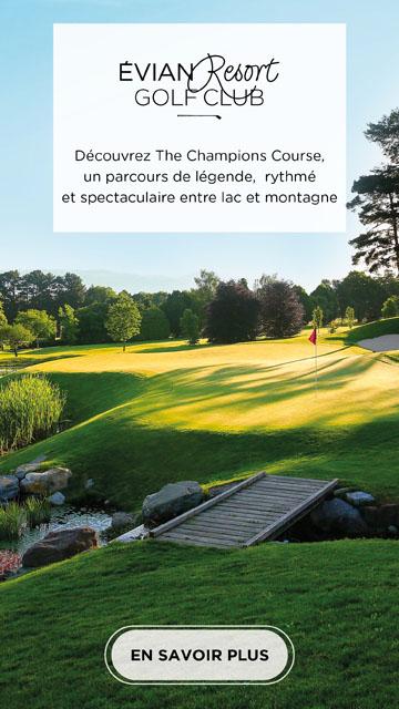 Evian Champion Course – bannière verticale