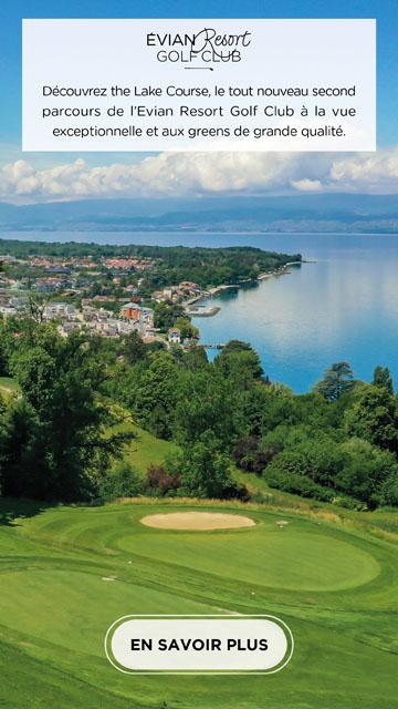 Evian Lake Course – bannière verticale