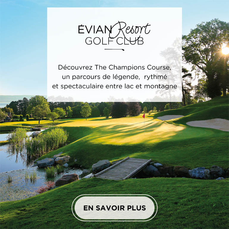 Evian Champion Course – pavé carré