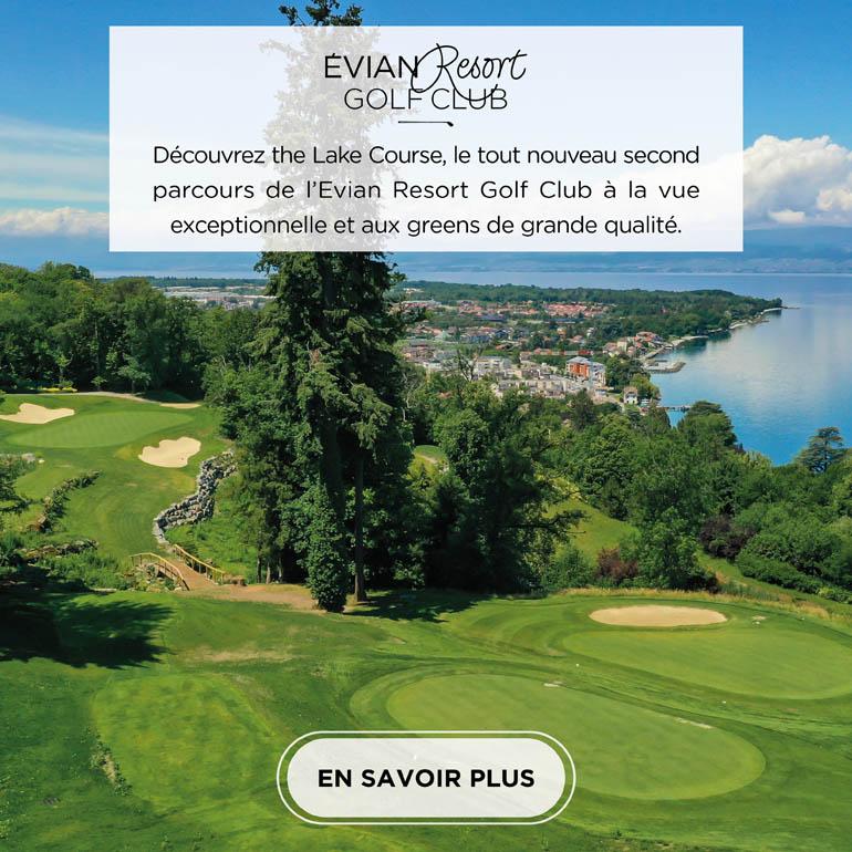 Evian Lake Course – pavé carré