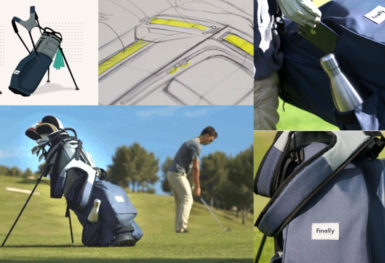 finaly golf bag principal eco friendly kickstarter
