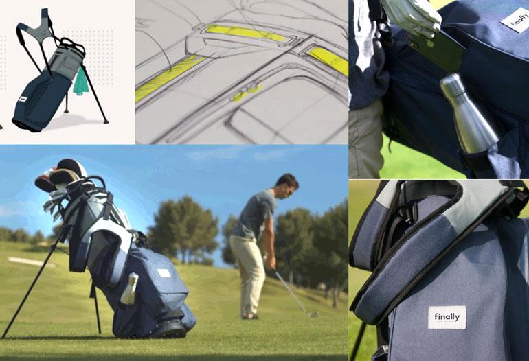 finaly golf bag principal eco friendly kickstarter