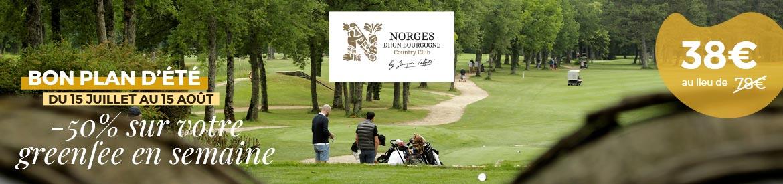 Golf Dijon Bourgogne Juillet 2020 bannière large