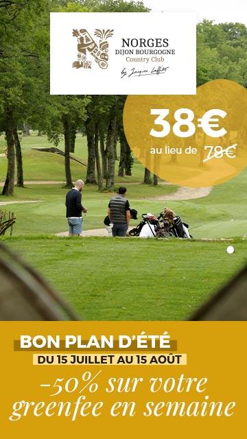 Golf Dijon Bourgogne Juillet 2020 bannière verticale
