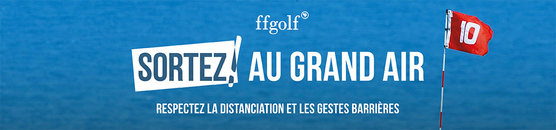 FFGOLF Juillet-Aout Sortez bannière large