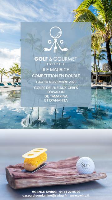 Swing Golf Gourmet Trophy Nov 2020 Ile Maurice – bannière verticale