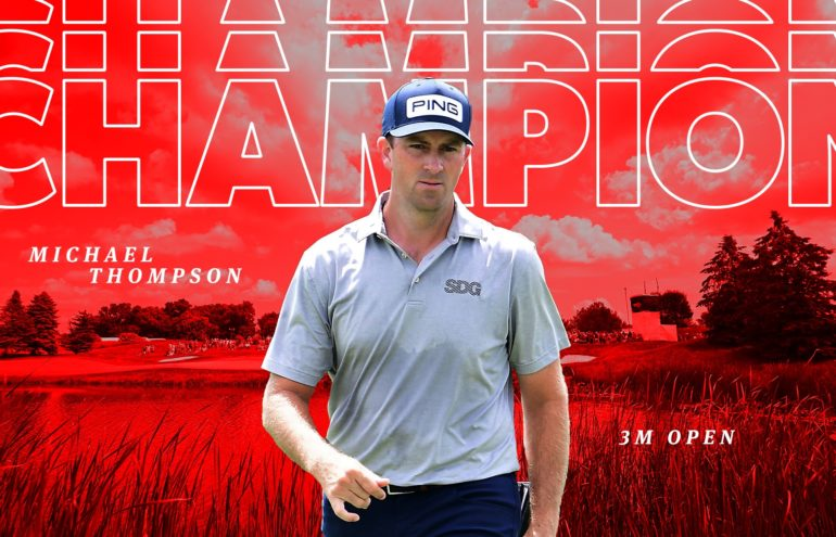 thompson 3M Open PGA Tour