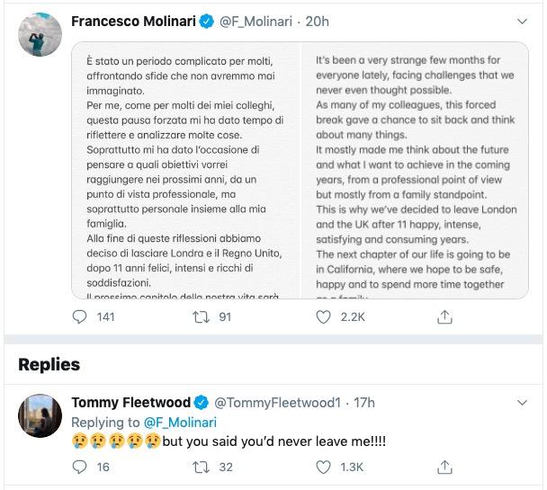 tweet molinari fleetwood
