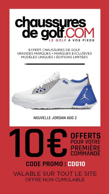 202008 Chaussures de golf – bannière verticale