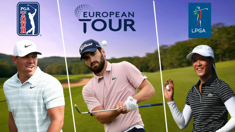 european tour pga tour lpga let alps Programme