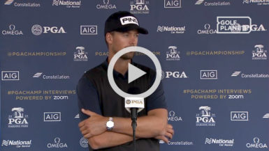perez pga championship reaction
