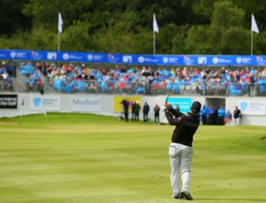 irish open Galgorm Spa & Golf Resort, Ballymena, Northern Ireland