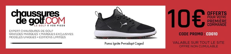 202008 Chaussures de golf Puma Ignite – bannière large