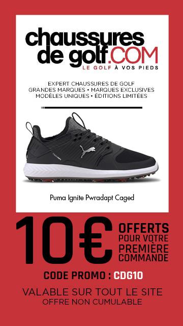 202008 Chaussures de golf Puma Ignite – bannière verticale